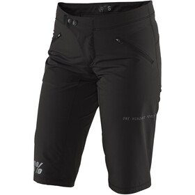 100% Ridecamp Spodnie krótkie Kobiety, black